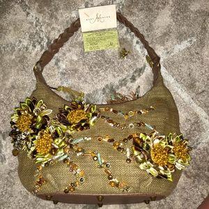 Mary Frances Hobo Shoulder Bag
